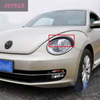 accessories vw beetle - FOR VW VOLKSWAGEN BEETLE HEADLIGHT EYEBROWS EYELIDS TRIM COVER STICKER CAR ACCESSORIES Cheap car accessories storage