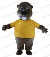 animal groundhog - AM9072 Groundhog Mascot costume for kids party custom marmot animal mascot outfit party costumes adult fancy dress