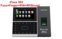Wholesale iface302 Biometric Access Control Face Fingerprint PIN Time Attendance Door Access Control System Employee Attendance Management ZK IFACE302