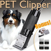 Wholesale Electric Hair Cutting Machine For PET Professional Dog Hair Trimmer Set Grooming Clipper Animal Shaving Razor