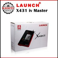 automotive dealers - 100 Original launch x431 iv master GX4 with dealer code A launch diagnostic machine x iv with factory price free update online