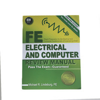 Wholesale Chirstmas gift new book FE Electrical and Computer Review Manual