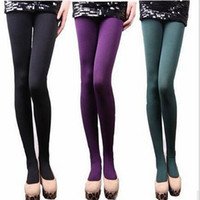 Wholesale 500 BBA4694 Hight quality Women Fashion Warm Faux Velvet Leggings Winter Sport leggins Thick Slim fitness Super Elastic women Yoga pants