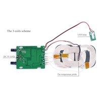 3 bobinas Qi cargador inalámbrico USB micro Portard bobina de carga inalámbrica de bricolaje tarjeta de circuitos accesorios al por mayor PCBA Con Qi Párese