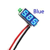 Wholesale Mini Digital DC inch Two Wire LCD Voltmeter Gauge Voltage Detector On Sale detector radar