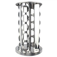 Wholesale 20 Jar Spice Rack Rotating Stainless Steel Stand Holder Kitchen Worktop Tool