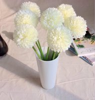 artificial onion - Green ball onion Artificial Hydrangea Flower small green onion ball home decoration flowers New arrival SP016