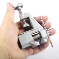 Wholesale 1pc New Portable Mini Bench Vise Aluminum Vise Maximum opening M Workshop Vice Professional Fixed Repair Tools