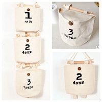 Wholesale ZAKKA Wall Door Hanging Organizer Container Bedside Wardrobe Closet Storage Bag Pocket Hanging Storage Bag LJJK493