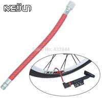 Wholesale icycle Accessories Bicycle Pump New Product Meijun Road Bicycles Mountain Bikes Lengthen CM Inflatable Hose High Pressure Inflatab