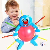 adult party balloons - Boom boom balloon Poking Game Don t Blow It crazy Party game booming balloon adults Family Fun toy popular board games kids gift