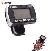 acoustic metronome - New Digital LCD Clip on Backlit Metronome Tuner for Electronic Acoustic Guitar Chromatic Bass Violin Ukulele JOYO JMT B