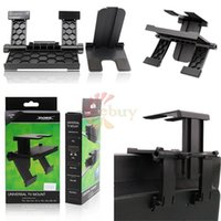 Wholesale 2016 New in Universal TV Mount Stand Holder for PS4 PS3 XBox One Wii Wii U High Quality Camera