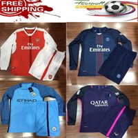 arsenal short - Top Quality Long sleeve MancHester Jerseys home Arsenal pg Real Madrid jersey Mixed