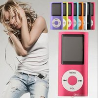 Wholesale Slim th gen mp4 player GB GB GB Colors for choose Music playing time Hours fm radio video player from coolcity2012