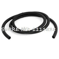bellows tube - Black Flexible Corrugated Tube Outer Diameter Bellows Hose M