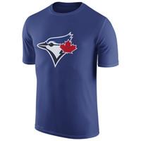 authentic tshirts - MLB Blue Jays T Shirts Baseball jerseys Tshirts Toronto Authentic Royal blue