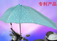 bicycle gear change - Electric Bicycle UV Protection Sun Umbrella Color Changing Motorcycle Rain Umbrella Multifunction Folding Rain Gear