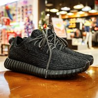 Cheap Adidas Originals 2016 Yeezy Boost 350 MoonRock Low Sport Running Shoes Women Men Footwear Shoes Trainin Brand Athletic Pirate Black With Box