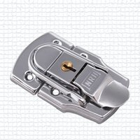 Wholesale metal hasp b type strains box buckle alloy lock luggage lock airbox hasp clasp handmade hardware fastener