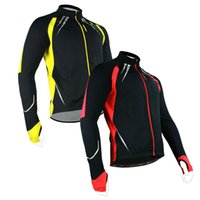 Wholesale New Fleece Thermal Winter Cycling Jacket Casual Bicycle Coat Outdoor Bike Jersey Color