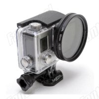 Wholesale GoPro Accessories Professional Lens mm CPL Filter Circular Polarizer Lens Filter for Gopro Hero4 Housing Black