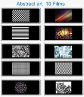 art image photography - Hpusn BGP Abstract Art Series Films for Photography Studio Flash image projector