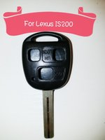 Wholesale Old Lexus key shell For IS200 ES300 IS350 RX300 key shell blank key cover key casing Button car key mm mm mm