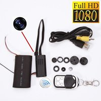 Wholesale T186 Full HD P Security Cameras Mini DV DVR DIY Camera Module Hidden Spy Camera CCTV Len Surveillance Camcorders