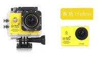 "SJCAM Black MicroSD / TF SJ7000 Full HD 1080P Waterproof Action Camera WIFI Sports Camcorder +Extra battery + Charger 2.0""LCD Diving Helmet Camera DVR 2016"