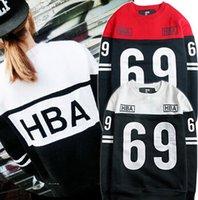 american west air - American Original brand HBA Hood by air brushed west style Hip hop street Men s sweatshirt Hot sale hoodie striped Top Coat