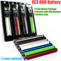 battery packaging blister - O pen Bud Touch Battery with USB Charger Blister package mah e cigs CO2 CBD vape Oil thick Waxy Smoking wax Tank vaporizer pen vapor DHL
