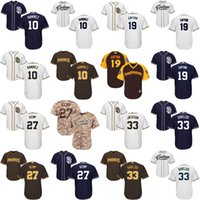 baseball shield - Youth Alexei Ramirez Tony Gwynn Matt Kemp James Shields San Diego Padres kids Baseball Jersey stitched size S XL