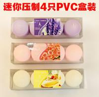 Wholesale 4 PVC box Mini Candle pressed tea warm tea fragrance Hotel KTV teapot for export and smokeless heating