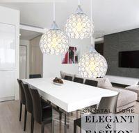Wholesale LED K9 Crystal Pendant Lamp heads ower SMeteor Ceiling Bocce Lights Meteoric Shtair Bar Droplight Chandelier Lighting