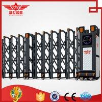 aluminium gate - Full automatic aluminium telescopic retractable gate for resisdential safety L1523