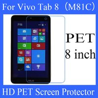 asus vivo - 8 inch Asus Vivo Tab M81C PET screen protector screen protector HD transparent clear PET protector Best Quality Factory Price