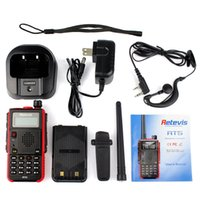 Wholesale New Black DPMR Digital Walkie Talkie Retevis RT5 Color black UHF MHzbatteries Retevis RT Two Way RadioFlashlight Portable