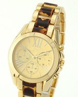 analog altimeter - Fashion lady dress watches women gold silver watches Tape watch Dial three decoration watches