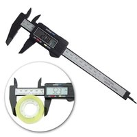 Wholesale Carbon Fiber Composite inch mm Vernier Digital Electronic Caliper Ruler ZH278
