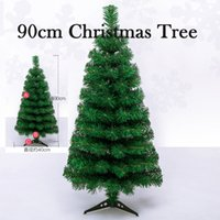artificial trees china - 90cm china Plastic Christmas Tree Artificial Tree Decoration Christmas Gift Ornament Home Decor Celebrate Party Supplies