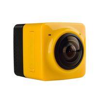 2016 Nueva cámara de acción 720P del deporte del CUBO 360 de la llegada 360 grados VR panorámico Construir-en la mini vida ultra del recorrido de WiFi mini DV