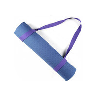 Wholesale Adjustable Sling Mat Carry Strap Fits For All Sizes Yoga Mats Multifunctional Stretching Yoga Stripe