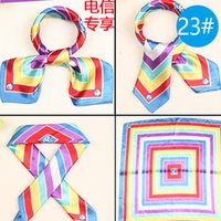 airline apparel - male scarves spring and autumn colors choose Fashion women shawl soft scarf airline stewardess scarves apparel c222