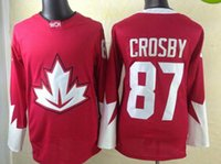 Wholesale 2016 World Cup Hockey Jersey National Hockey Jerseys Olympic Winter Games Hockey Jerseys Sidney Crosby Hockey Wears Jersey Top