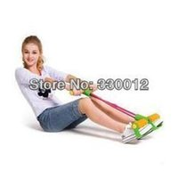 Wholesale Ofdynamism pedal fitness chest latex tube foot elastic rope slimming beauty care indoor sports equipment