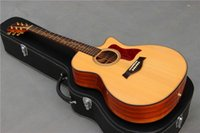 Wholesale 2015 New acoustic guitar solid spruce top KOA back and side nature best quality guitar K20