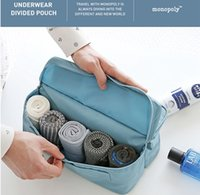 Wholesale Travel Organizer clothes Bags Accessories men s Luggage Storage Wash Bag For cosmetic and makeup Storage Pouch Bag socks Organizer