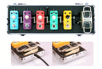 Wholesale MOOER Electric Guitar Effect Pedal Case Firefly M6 Flight Case for Micro Series Pedals and Mini Pedals Portable