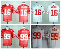 best fashion colleges - Wisconsin Badgers Jerseys College Russell Wilson JJ J J J J Watt Jersey Football Red White Team Color Fashion Breathable Best Quality